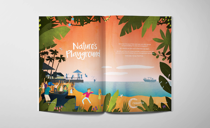 C Resorts Communications Campaign by Luxury Branding